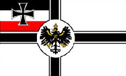 The Imperial German Navy Flag