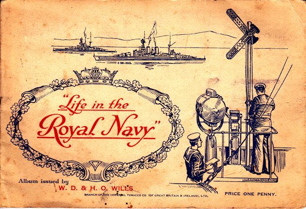 Life in the Royal Navy Front