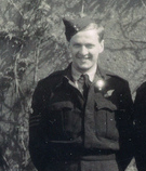 Wireless Officer Jim Potter, RAAF