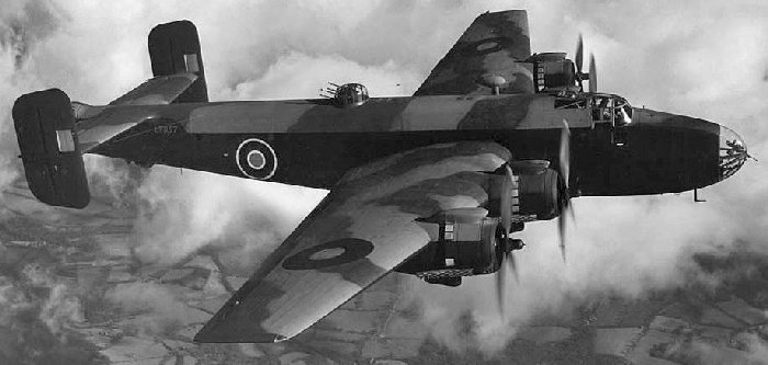 Handley Page Halifax.